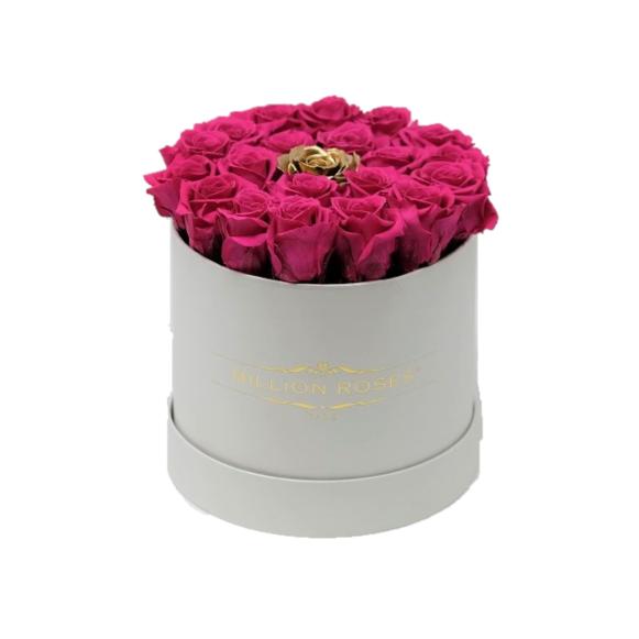 ピンク&ゴールド Mini ホワイトボックス